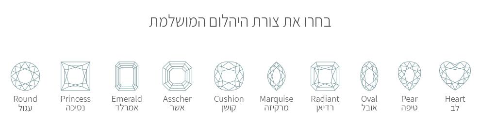 צורות-של-יהלום-מרכז-מידע