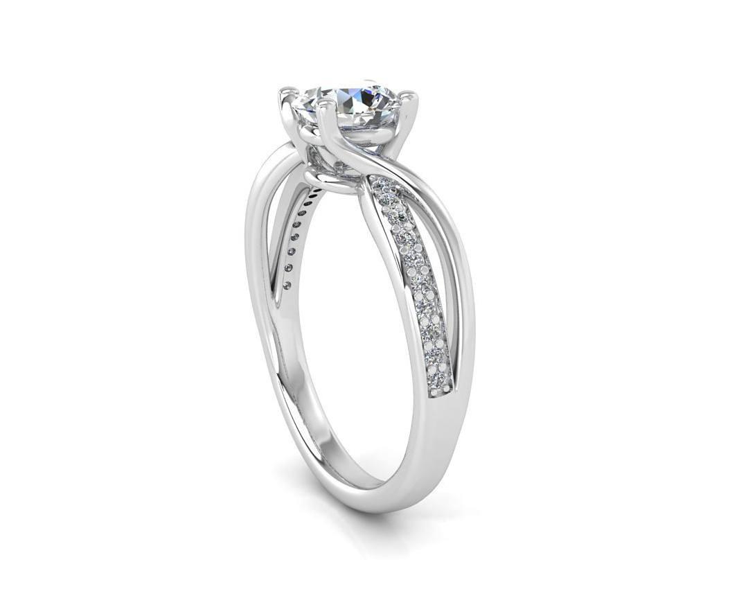 """טבעת-אירוסין-זהב-לבן-מעוצבת-אינפיניטי-טוויסט-סה""""כ-0.72-קראט-יהלומים-4"""