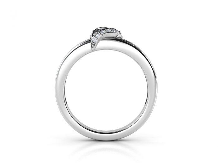 """טבעת-אירוסין-זהב-לבן-מעוצבת-בסגנון-מודרני-סה""""כ-0.30-קראט-יהלומים-5"""