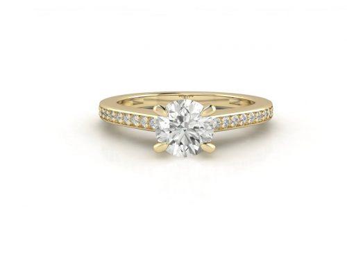 """טבעת-אירוסין-סוליטר-זהב-לבן-סה""""כ-0.72-קארט-יהלומים-3"""