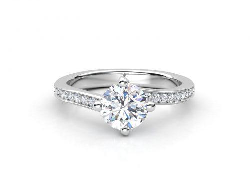 """טבעת-אירוסין-פאווה-טוויסט-סה""""כ-0.53-קראט-יהלומים-3"""