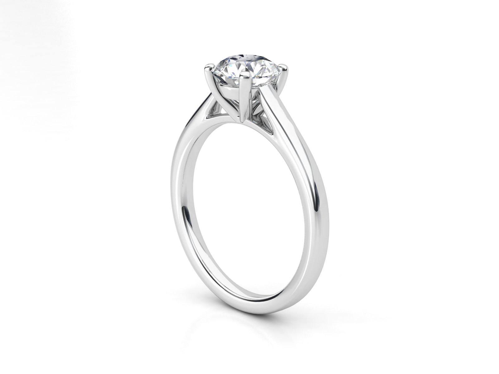 טבעת אירוסין סוליטר קתדרלה 2