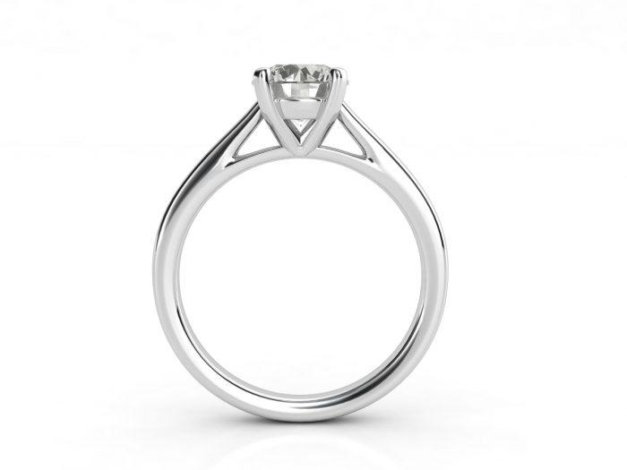 טבעת אירוסין סוליטר קתדרלה 3