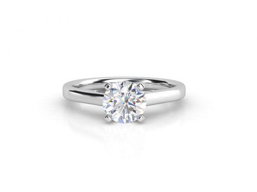 טבעת אירוסין סוליטר קתדרלה